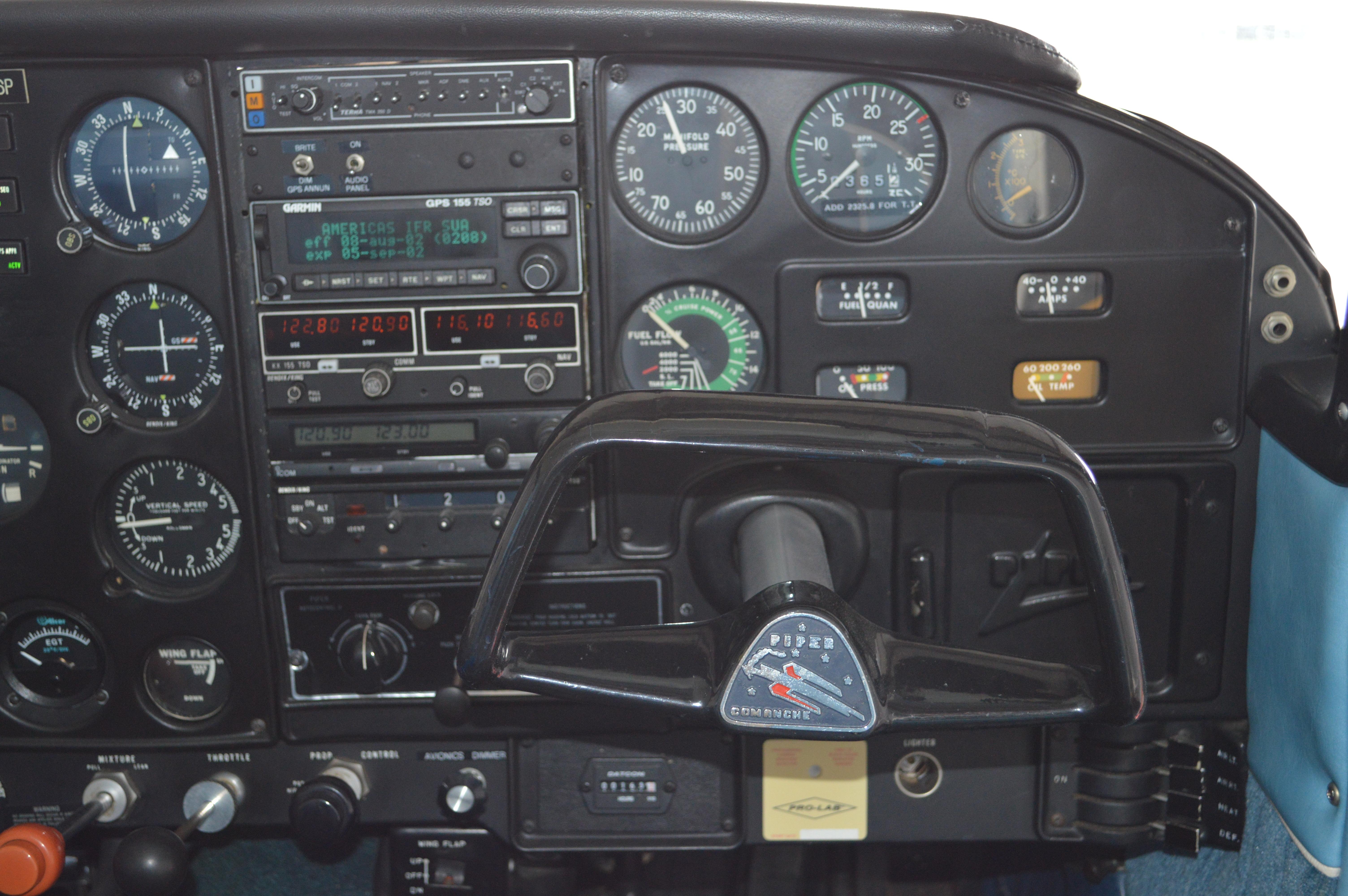 For Sale: 1964 Piper Comanche 250 Super – TK AVIATION